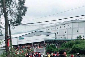 Thanh Hóa: Hàng nghìn công nhân đình công phản đối chất lượng bữa ăn