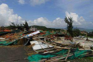Phú Yên: Khắc phục hậu quả của cơn lốc xoáy
