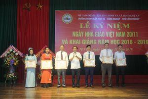 Trường TC KT-CN-TCN Nghệ An: 80% học sinh ra trường có việc làm ổn định