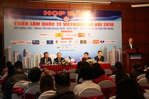 Triển lãm Vietbuild Hà Nội 2018 lần ba: Ngày hội của doanh nghiệp xây dựng và bất động sản