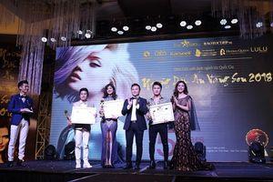Ca sĩ Du Thiên nhận giải thưởng sao Việt có mái tóc đẹp nhất năm 2018
