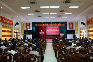 Hội nghị triển khai việc lấy phiếu tín nhiệm đối với người giữ chức vụ do Hội đồng nhân dân thành phố Thái Nguyên bầu tại Kỳ họp thứ 10, HĐND thành phố khóa XVIII, nhiệm kỳ 2016 - 2021