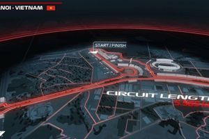 'Dạo thử' một vòng đường đua F1 tại Hà Nội vào năm 2020