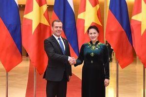 Thủ tướng Medvedev: Nga và Việt Nam luôn là những người bạn thân thiết