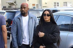 Hết gợi cảm, Kim Kardashian kín đáo bất ngờ khi xuống phố cùng chồng