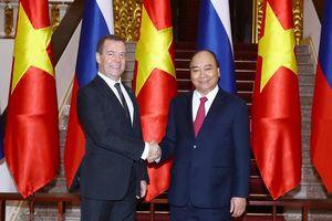 Reuters: Nga - Việt đồng ý tăng gấp ba giá trị thương mại vào năm 2020