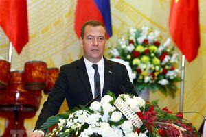 Thủ tướng Medvedev: Người dân Nga-Việt mong muốn được hiểu nhau nhiều hơn
