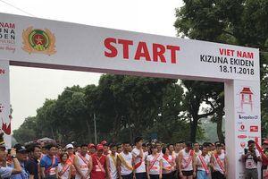 Hơn 200 đội thi tham gia Giải chạy tiếp sức Kizuna Ekiden 2018
