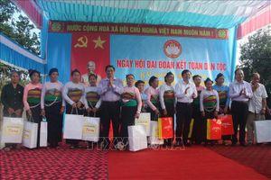 Nhiều địa phương tổ chức Ngày hội Đại đoàn kết toàn dân tộc