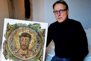 Phát hiện bức tranh khảm 1.600 tuổi sau 4 thập kỷ bị đánh cắp