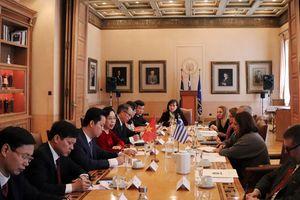 Thúc đẩy quan hệ hợp tác trên nhiều lĩnh vực giữa Hà Nội với Thủ đô Athens và các cơ quan của Hy Lạp