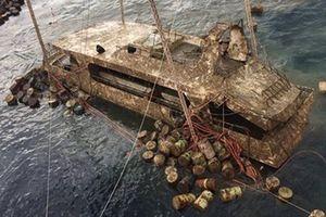 Thái Lan trục vớt tàu du lịch bị chìm khiến 47 du khách Trung Quốc thiệt mạng