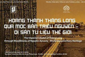 Hoàng thành Thăng Long qua Mộc bản triều Nguyễn