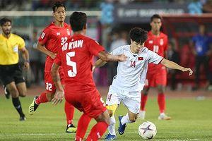 Hòa Myanmar, tuyển Việt Nam chưa thể có vé bán kết AFF Cup 2018