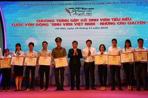 Gặp gỡ, tuyên dương 49 sinh viên Việt Nam tiêu biểu