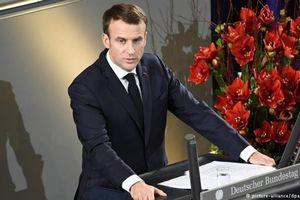Ông Macron muốn Pháp - Đức bắt tay chặn thế giới hỗn loạn