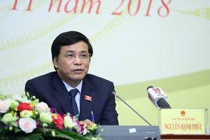 Tổng Thư ký Quốc hội nói về tranh luận nóng giữa đại biểu Lưu Bình Nhưỡng và đại biểu Nguyễn Hữu Cầu