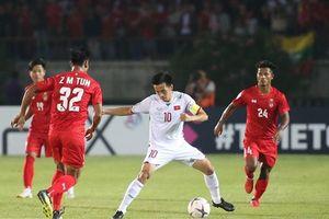 Trọng tài quyết định gây tranh cãi, Việt Nam bị Myanmar cầm hòa 0-0