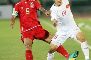 Đội hình ra sân của Việt Nam gặp Myanmar: Bất ngờ Văn Quyết