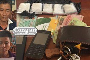 Bắt 2 đối tượng tàng trữ ma túy
