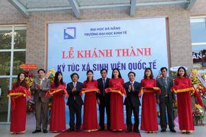 Trường ĐH Kinh tế (ĐH Đà Nẵng) khánh thành khu ký túc xá SV quốc tế