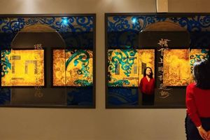 Kho báu nghệ thuật đương đại dưới hầm Nhà Quốc hội