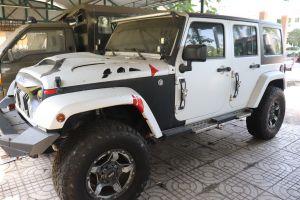 Định giá lại xe Jeep Wrangler Unlimited được Mỹ sản xuất do Công an TP.Phan Thiết quản lý