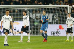 Đội tuyển Đức xác lập kỷ lục tệ hại nhất trong vòng 40 năm