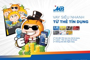 Vay online siêu nhanh từ thẻ tín dụng - Tiện ích mới của App ngân hàng MBBank