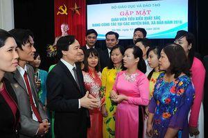 Thư của Bộ trưởng Phùng Xuân Nhạ gửi các thầy cô