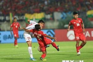 Myanmar vs Việt Nam 0-0: Việt Nam mất chiến thắng vì trọng tài