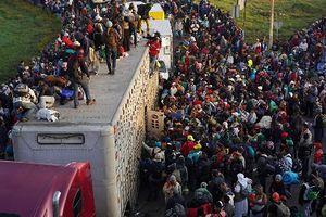 Bạo lực phản đối đoàn di cư bùng phát tại biên giới Mỹ-Mexico