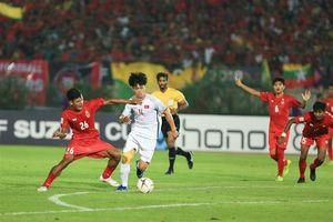 Hòa 0 - 0 với Myanmar, Việt Nam đặt một chân vào bán kết