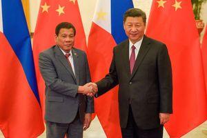 Trung Quốc, Philippines nâng cấp quan hệ lên tầm hợp tác chiến lược toàn diện