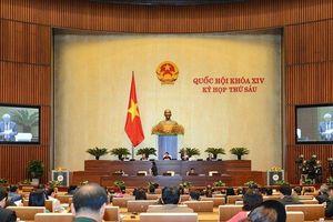 Kết quả đáng chú ý của kỳ họp thứ 6, Quốc hội khóa XIV