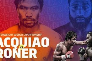 Pacquiao ấn định thời điểm thượng đài bảo vệ đai WBA