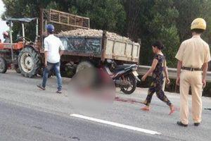 4 người trong một nhà thương vong sau cú va chạm với công nông chở sắn
