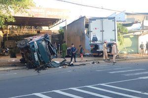 Lâm Đồng: Xe tải đông lạnh lao vào nhà dân, nhiều người bị thương
