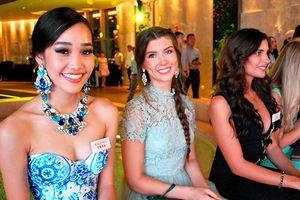 Dàn ứng viên Miss World đẹp như tranh vẽ khiến fan vừa mừng vừa lo cho Tiểu Vy