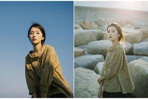 Ngẩn ngơ trước vẻ đẹp trong veo như nắng mai của cô bạn giống hệt nữ diễn viên Trương Bá Chi