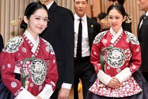 Jang Nara 'hớp hồn' với vẻ ngoài trẻ đẹp tại họp báo 'The Last Empress', khán giả Hàn khen ngợi hết lời