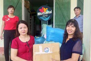 Mottainai tặng quần áo, bút vở cho học sinh khó khăn ở Hòa Bình