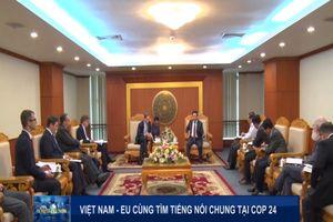 Việt Nam – EU cùng tìm tiếng nói chung tại COP 24