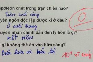 Cười ra nước mắt với những bài kiểm tra, tập làm văn 'bá đạo' của học sinh