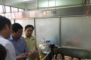 Phó Chủ tịch UBND TPHCM thăm học sinh bị sâp giàn giáo trong ngày 20/11