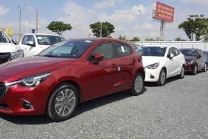 Mazda2 phiên bản facelift đã về đại lý, chờ giá chính thức