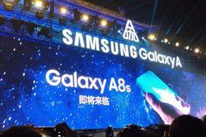 Galaxy A8s sẽ là điện thoại màn hình Infinity-U đầu tiên của Samsung