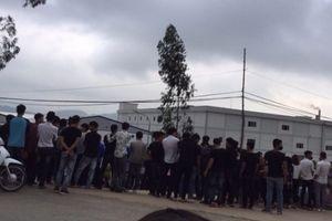 Thanh Hóa: Gần 4.000 công nhân công ty may Ny Hoa Việt đình công