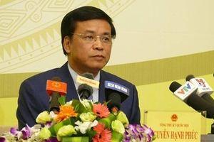 Tổng Thư ký Quốc hội khẳng định số liệu đại biểu Lưu Bình Nhưỡng nêu ra chưa chính xác