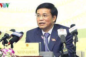 Tổng Thư ký Quốc hội nói về tranh luận với chất vấn của ông Lưu Bình Nhưỡng
